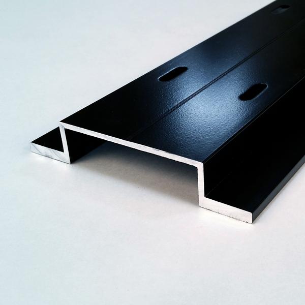 Universe 110 Vertical Aluminum Hat Extrusion