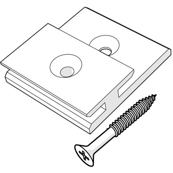 Trespa Pura Universal Clip Package